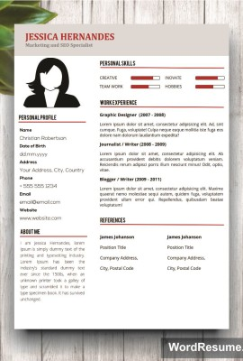 Mockup Template 2nd page