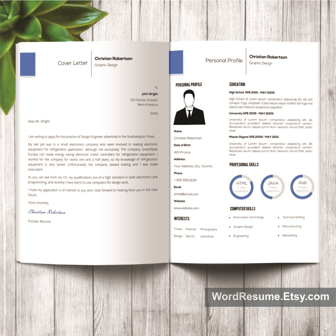 exclusivity letter template - exclusive resume template christian robertson