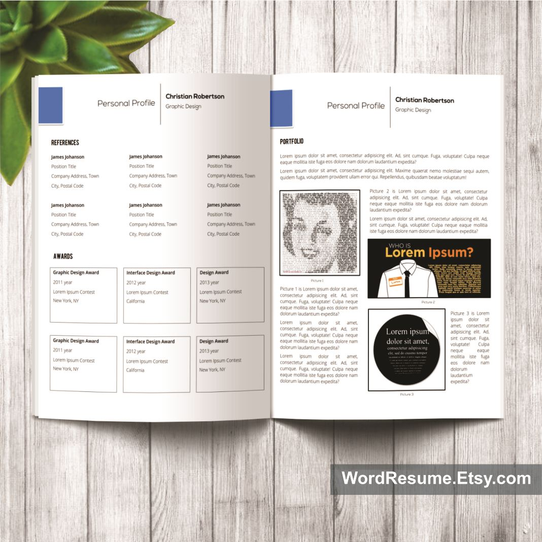 How To Staple A Resume alluring staple resume template regarding should i staple my resume 8 Page Exclusive Resume Template Including Cover Letter References And Portfolio Christian Robertson Creative Resume Templates