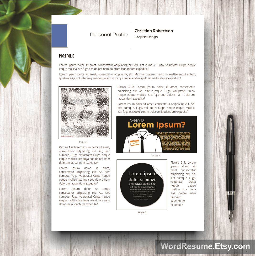 mockup template resume 10 eighth page