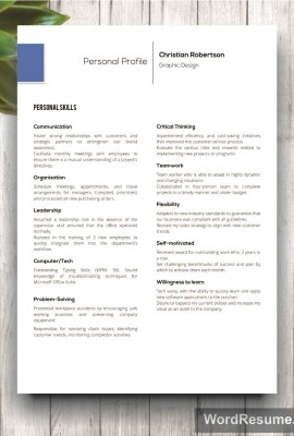 Mockup Template Resume 10 fifth page