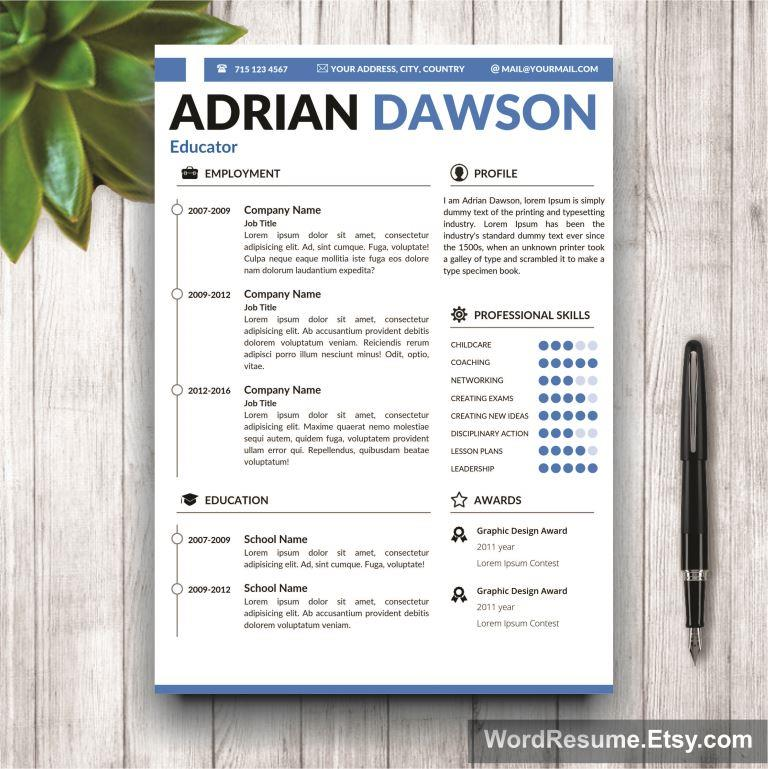 buy resume templates word modern template this