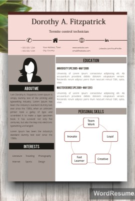 home resume downloads creative cv template with cover letter